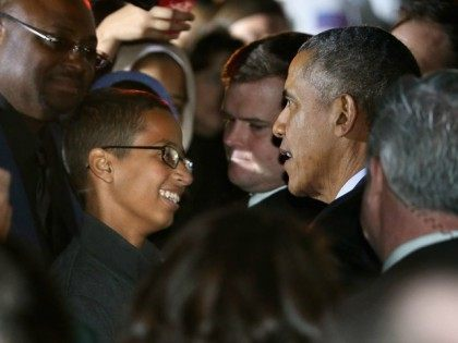 "Ahmed Mohamed ""Clock Boy"" meeting President Obama"