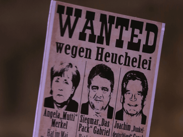 Merkel treason