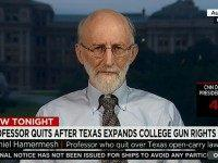 Fmr Prof: Campus Carry Will Increase Grades Because Professors Will Be Afraid of Being Shot