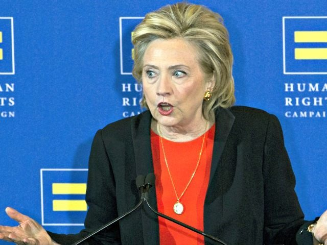 Hillary Clinton Speaking AP