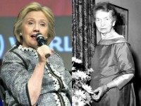 Hillary Clinton and Margaret Sanger AP