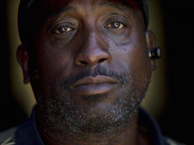 Homeless Jerome Belton (Associated Press)