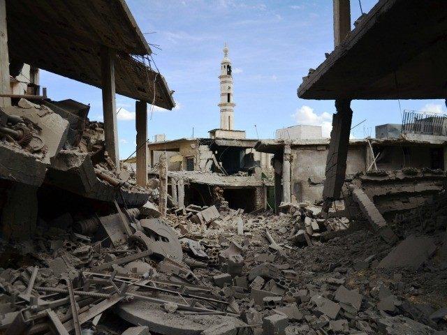 russian bombing