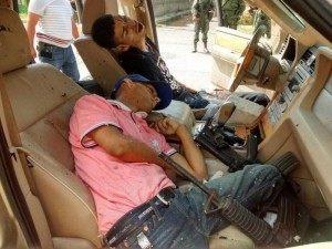 Los Zetas gunmen killed during firefight.
