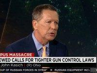 Kasich: More Gun Laws Won't Fix Problems, People Becoming Isolated Is 'Root' of Problem