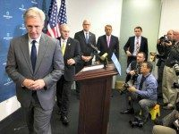 Kevin McCarthy's Exit from Speakership Race Comes After Walter Jones Pressed Candidates on Moral Turpitude