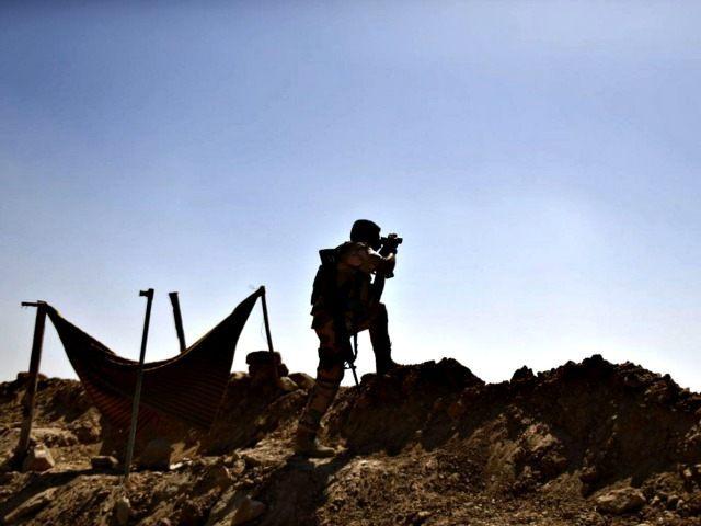 Kurdish lookout AP