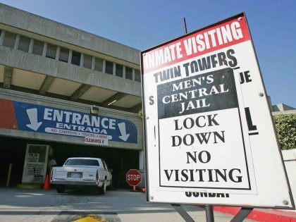 L.A. Central Jail Lockdown (Robyn Beck / AFP / Getty)