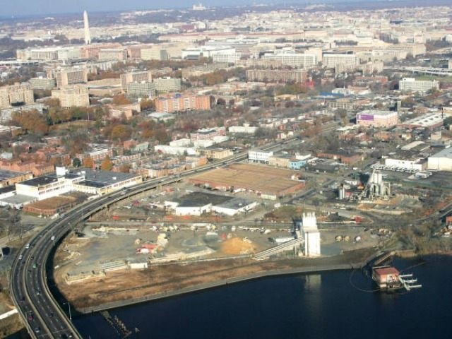 he proposed site for the USD 535 million publicly financed 41,000-seat baseball stadium for the Washington Nationals National League baseball team is shown 30 November 2005, in Washington,DC. The site is waterfront property located at South Capitol and N Streets, SE, on the Anacostia River, and is slated to begin …