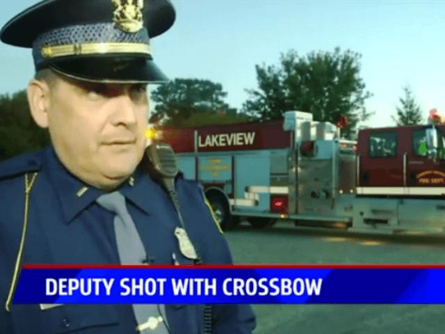 MSP Lt - Deputy Shot with Crossbow - Fox17 Video shot