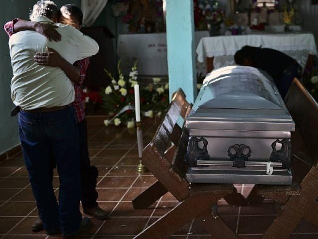 Mexico Casket, Funeral