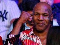 Mike Tyson Eats Roy Jones Jr's 'Ear' in Thanksgiving Video
