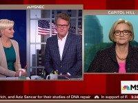McCaskill Accuses MSNBC's 'Morning Joe' of Anti-Hillary Bias