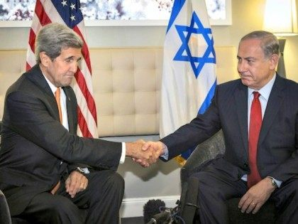 Netanyahu-Kerry-UN-AP