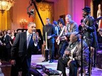 Obama BB King Pete SouzaThe White House via Getty Images