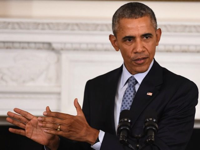 Obama speaks during a press conference at the White House on October 2, 2015, in Washington, DC. Obama said Russian approach to Syria is 'recipe for disaster.' AFP PHOTO/JIM WATSON (Photo credit should read