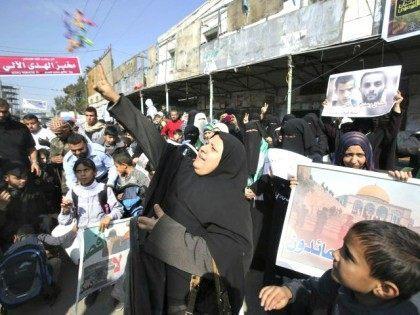 Palestinians Celebrate Attack Reuters