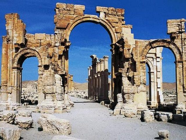 Palmyra arches