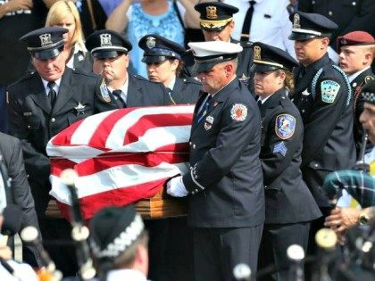 Police Officer Funeral AP