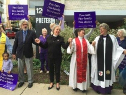 'Thank God for Abortion Providers;' Episcopal and Methodist Clergy Bless Abortion Clinic