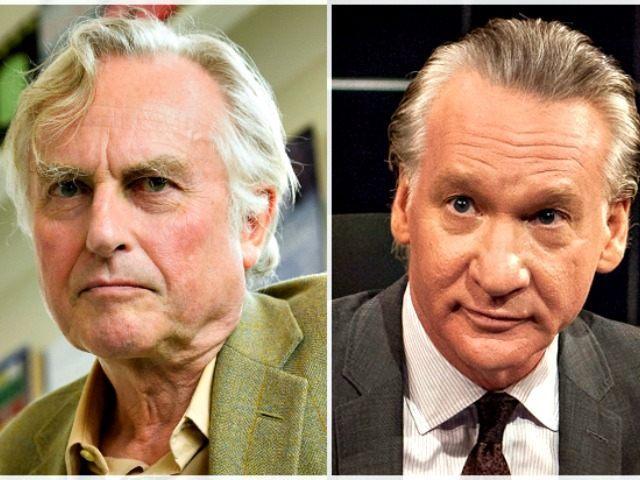 Richard Dawkins (L) and Bill Maher APFiona HansonHBOJanet Van Ham