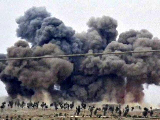 Russian Air Strikes Hit Noms AP