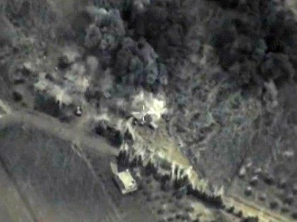 Russian Ministry Claims Hit Against ISIS in Syria AFPGetty
