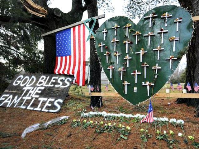 Sandy Hook Memorial Jessica Hill, AP