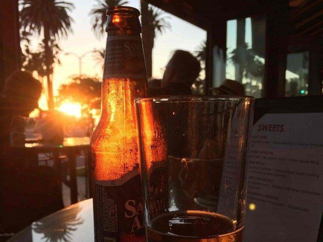Santa Monica Beer (Joel Pollak / Breitbart News)