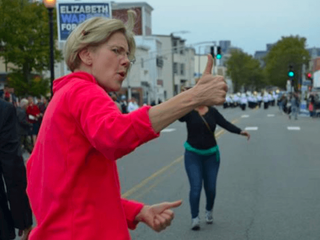 Elizabeth Warren Columbus Day (Facebook)