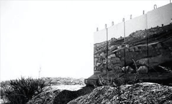 Gilo wall (Joel Pollak / Breitbart News)