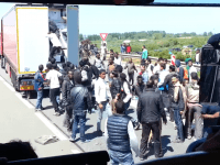 Calais Truck Drivers: 'It's War Out There' Because Of Migrants