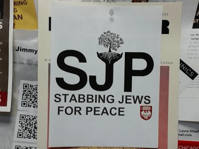 Stabbing Jews for Peace / Students for Justice in Palestine / SJP (@oklahomagoon / Twitter)