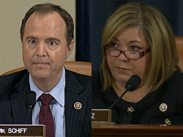Adam Schiff and Loretta Sanchez at Benghazi (Getty / AP)