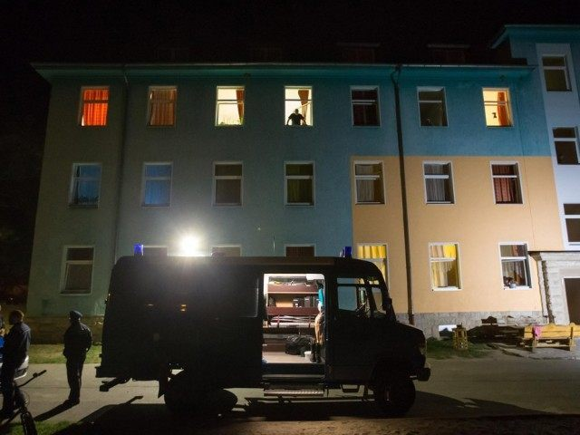 Refugee Asylum Shelter Fire Migrant Germany