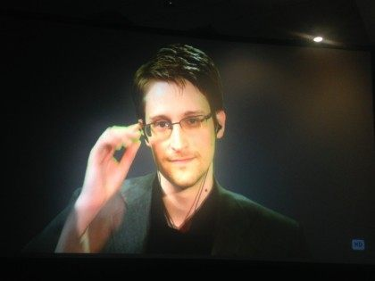 Snowden at Politicon (Adelle Nazarian / Breitbart News)