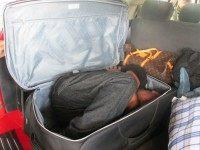 Border Patrol Agents Find Illegal Immigrant Stuffed in Suitcase