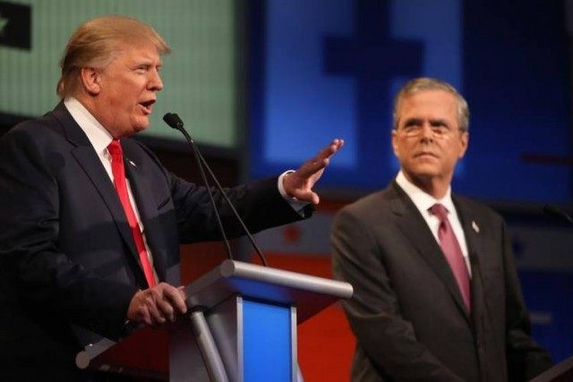 Trump and Bush AP PhotoAndrew Harnik
