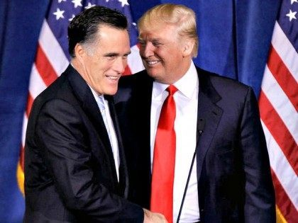 Trump and Romney