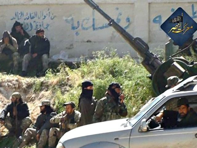 al-Nusra fighters in Syria AP