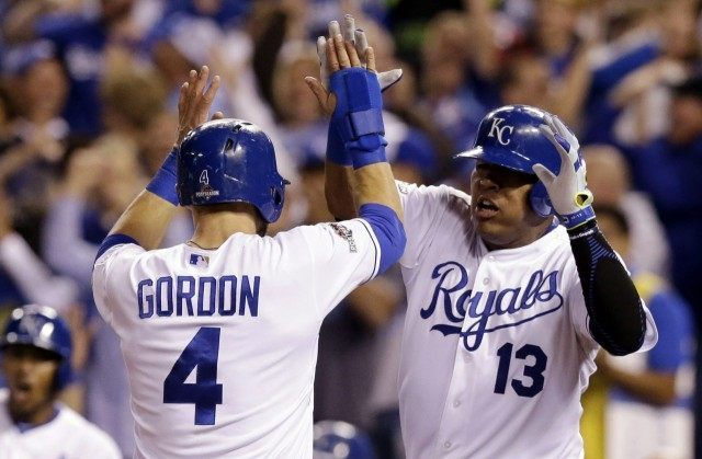 Alex Gordon, Salvador Perez
