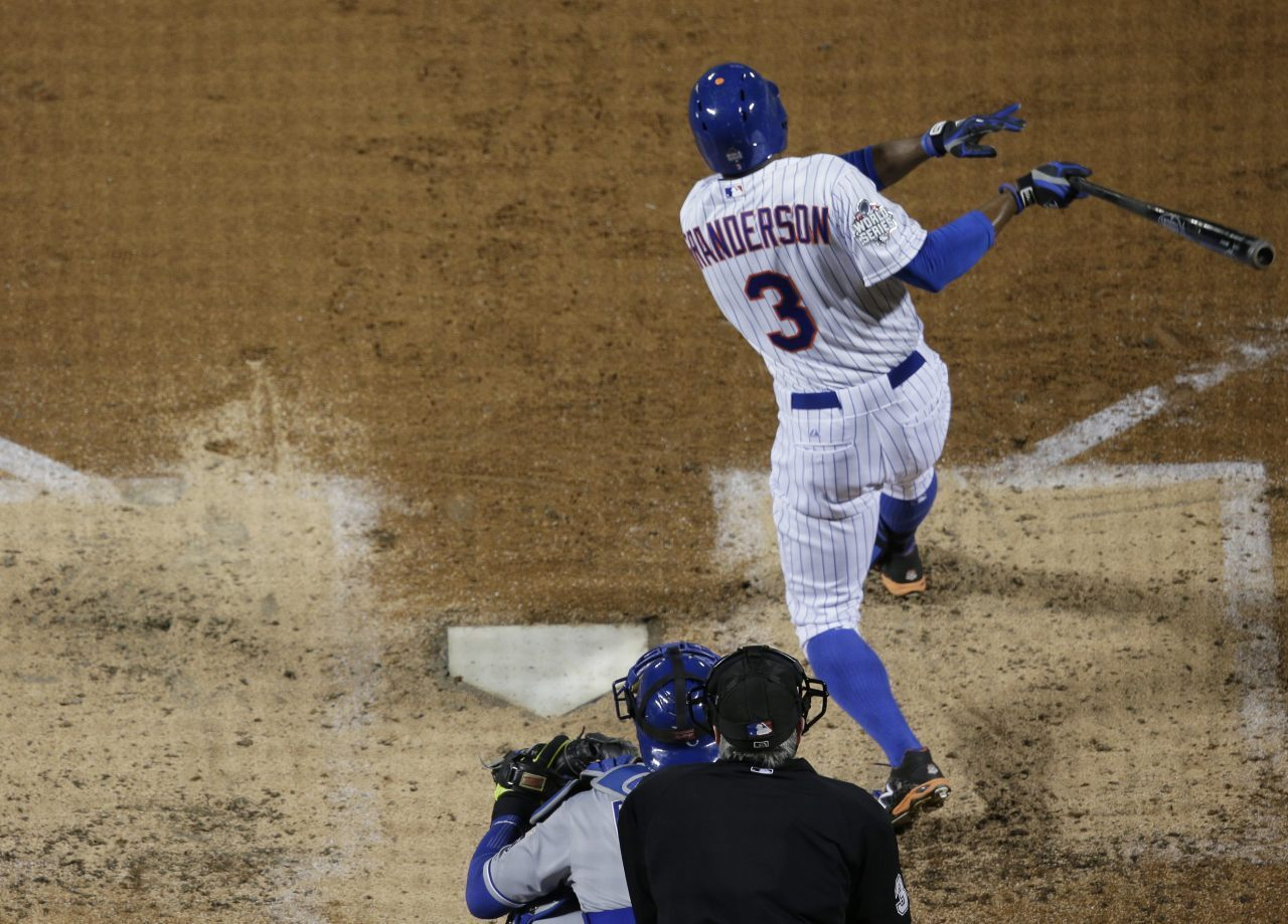 ee59d1122 The Latest  Granderson 2-run HR puts Mets ahead 4-3 - Breitbart