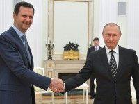 Vladimir Putin, Bashar al-Assad