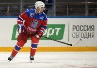 Vladimir Putin 'Scores' Seven Goals in Birthday Hockey Game