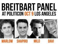Breitbart Takes On Hollywood and Social Justice Warriors at Politicon