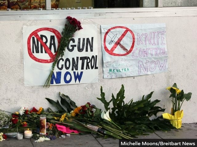 Gun Control, Knife Control (Michelle Moons / Breitbart News)