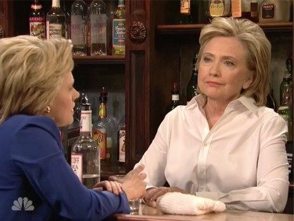 Hillary on SNL: Isn't Trump the Guy That's Like 'Uh, You're All Losers?'