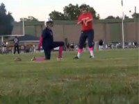 Alabama High School Kicker Doesn't Let Disability Keep Him From Kicking