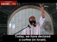 Gaza Imam Wields Knife, Tells Congregation to Kill Jews Like Muhammad Did