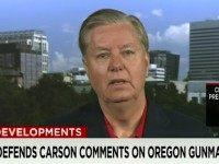 Graham: Carson 'Questioning People Who Have Lost Their Lives,' 'Glad' Obama 'Went to See These People'